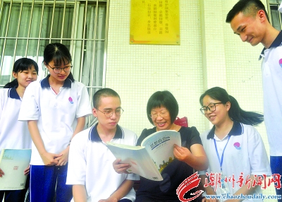 市华侨中学教师刘楚兰情系教坛严爱相济 -潮州新闻网