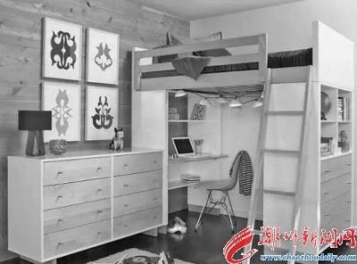 小书房设计带小床