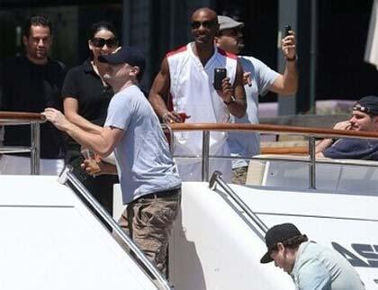 李奥纳多乘5亿美元豪华游艇赴巴西看世界杯_