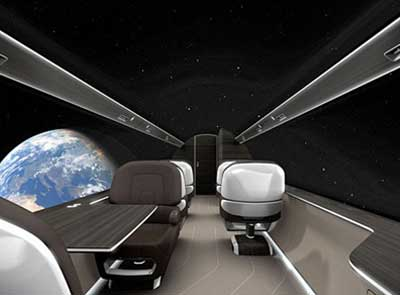 透明 潮州/未来飞机概念图出炉透明机身全景飞行不是梦