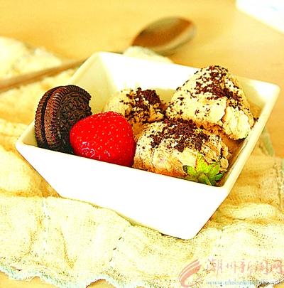 奥利奥摩卡冰淇淋