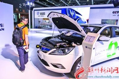 2017第二届中国 广州 国际新能源节能及智能汽车展开幕